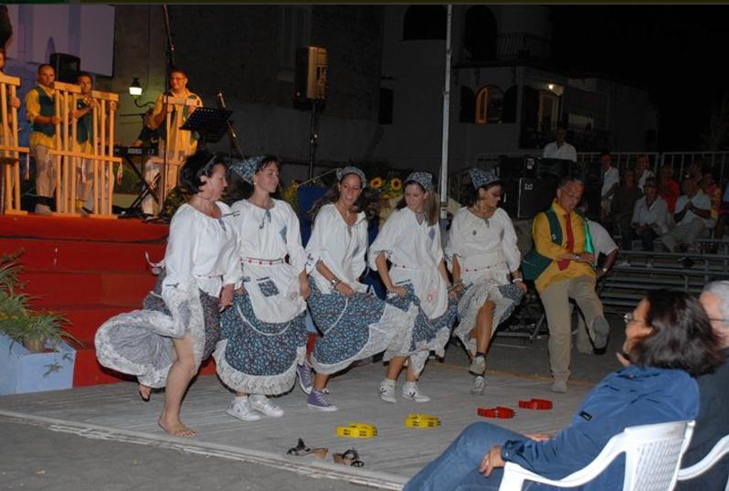 Esibizione Gruppo Folk Agerola